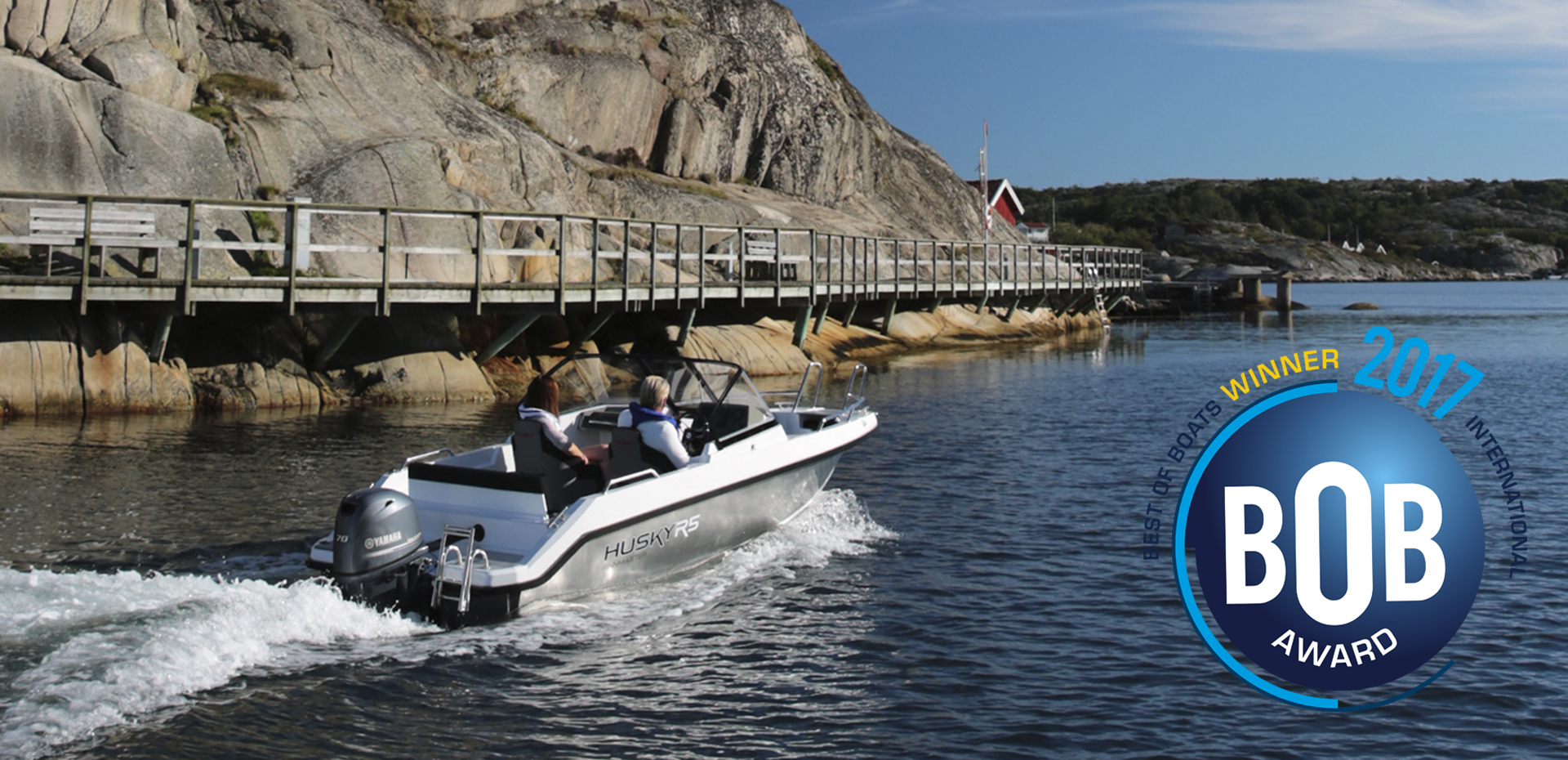 Aluminium Boat Finnmaster Husky R5 Best of Boats 2017 WINNER.