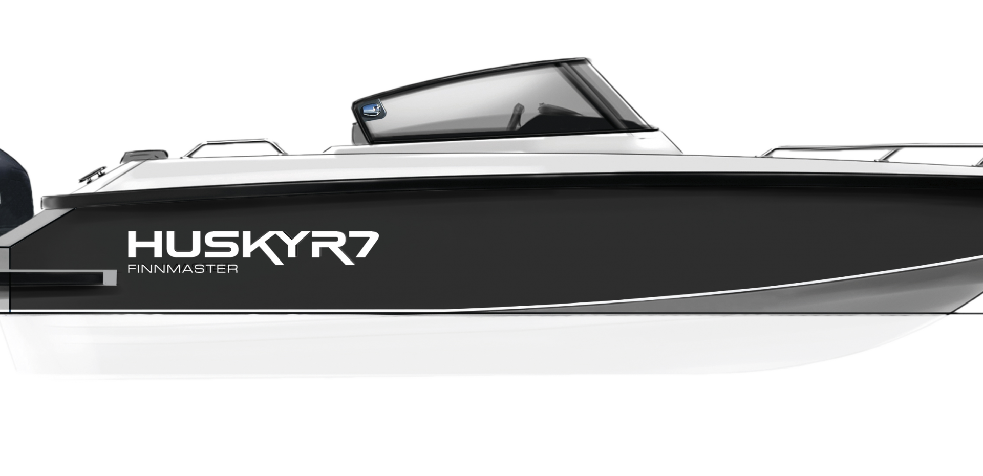 Aluminium Boat FINNMASTER HUSKY R7 - The perfect family boat